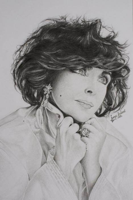 Elizabeth Taylor by Jimmy73